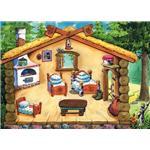 "Игра с волшебными наклейками ""Три медведя"" арт.8201 (КЛ72783)"